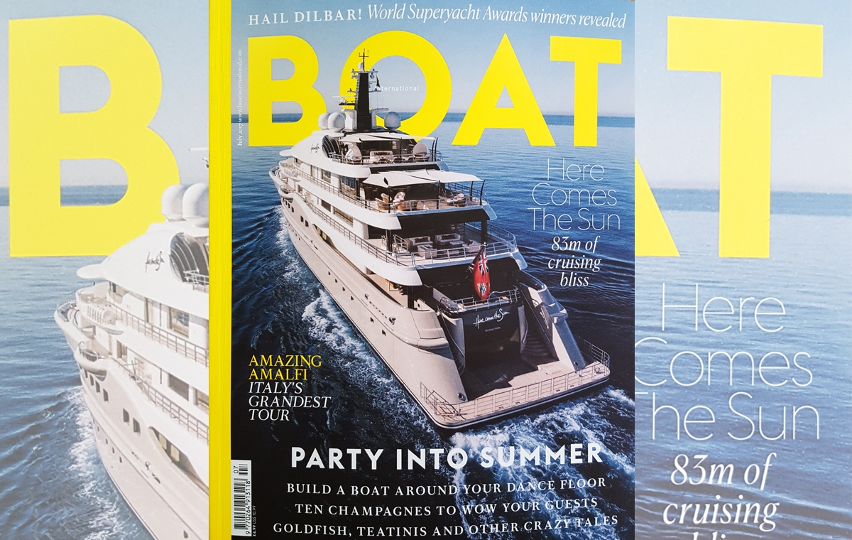 News image for Boat International July edition