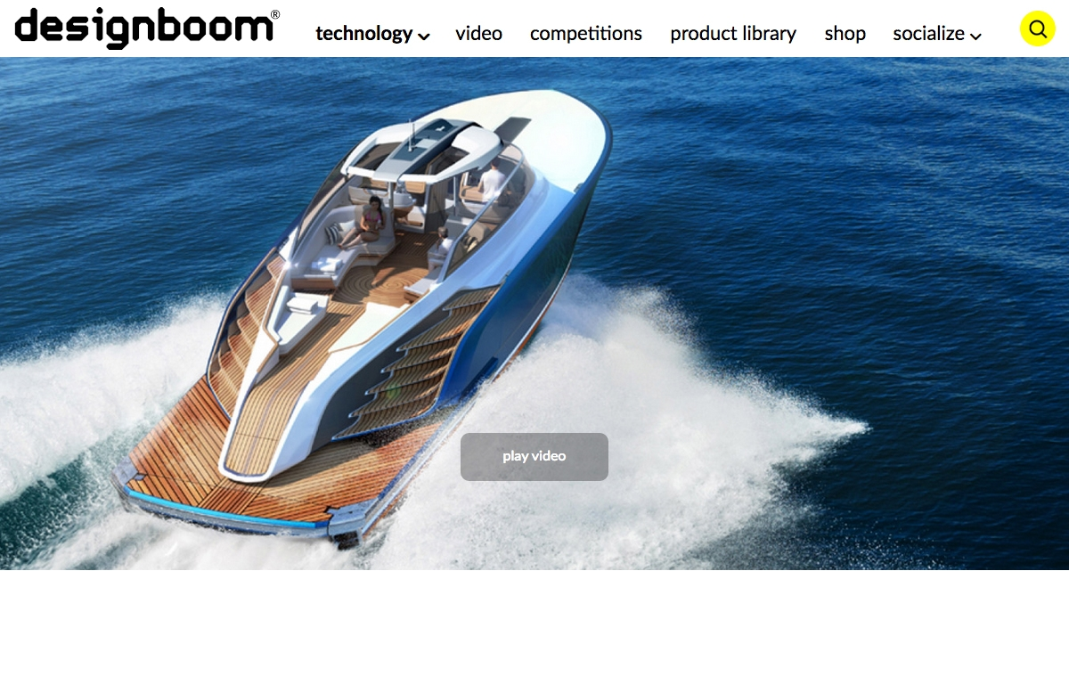 News image for Aeroboat S6 combines luxury living with high-performance cruising